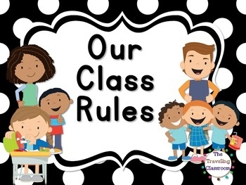 Rules and procedures clipart black and white download Editable Whole Brain Classroom Rules & Procedures {Black ... black and white download