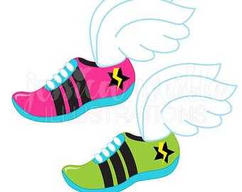 Runner clipart number 1 svg freeuse Running clip art – Etsy svg freeuse