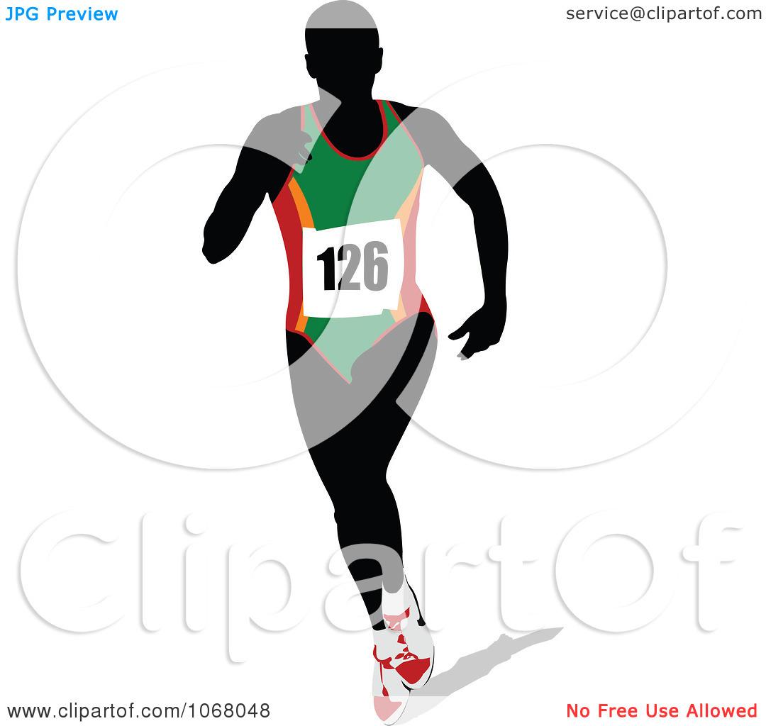 Runner clipart number 1 banner Female Runner Clipart - Clipart Kid banner