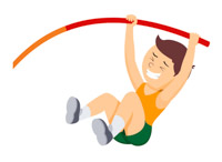 Runner jumper clipart image free library Sports Clipart - Free Track and Field Clipart to Download image free library