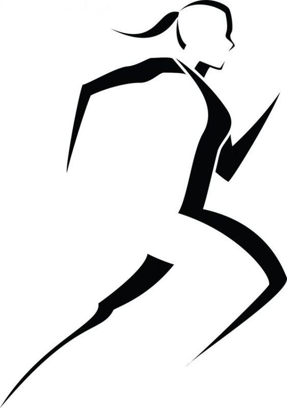Runner logo clipart jpg freeuse stock Runner silhouette clip art logo clip art runner things to ... jpg freeuse stock