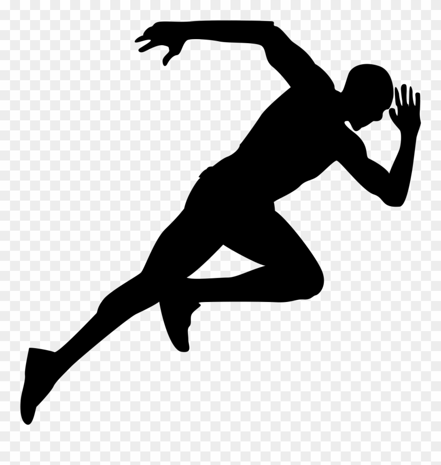 Runner pictures clipart svg transparent library Track Runner Png - Running Png Clipart (#718730) - PinClipart svg transparent library