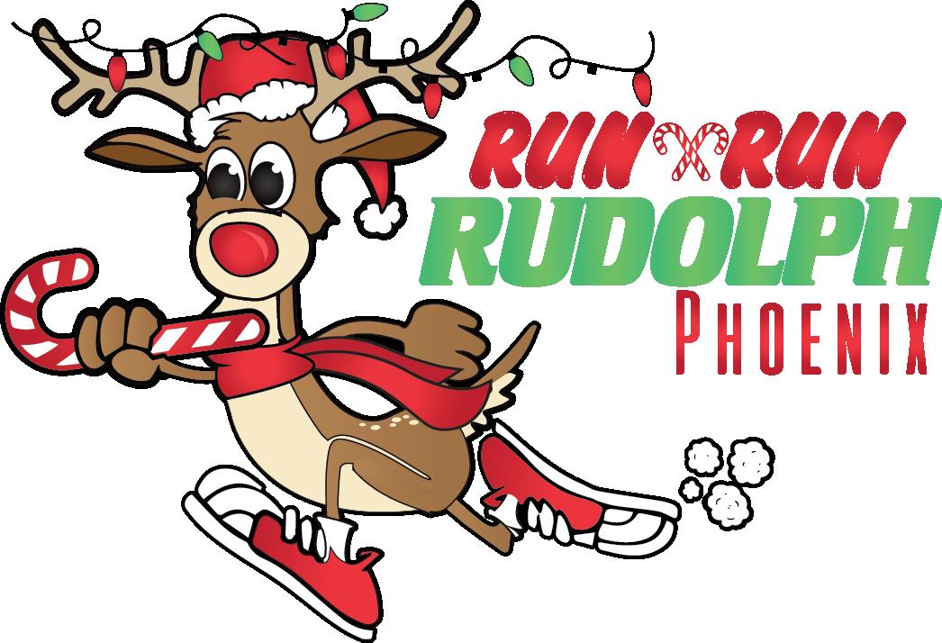 Running baseball clipart graphic royalty free library Phoenix Run Run Rudolph Half Marathon / Quarter Marathon / 4 Mile ... graphic royalty free library