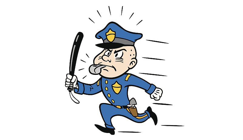 Running baseball clipart graphic library library Police officer Baton Clip art - Policemen patrolling and running 800 ... graphic library library