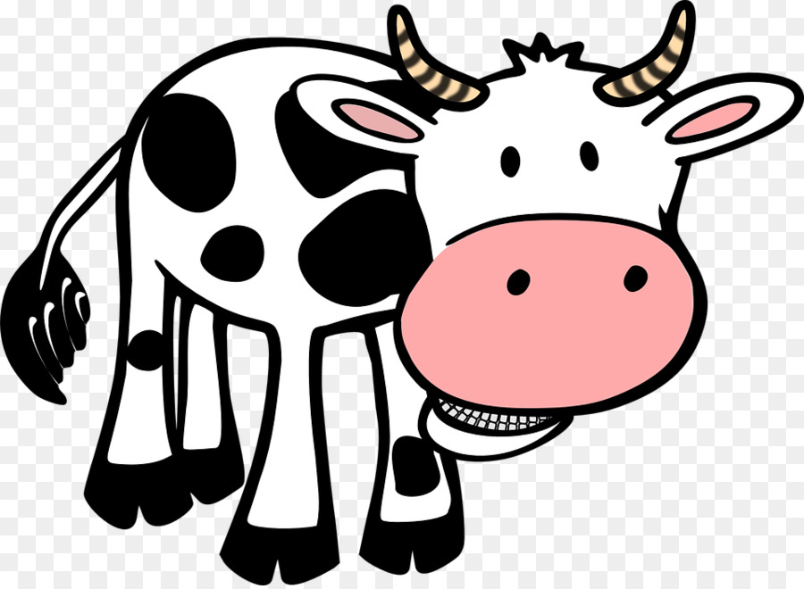 Running cow clipart picture free stock Cow Background png download - 960*700 - Free Transparent ... picture free stock