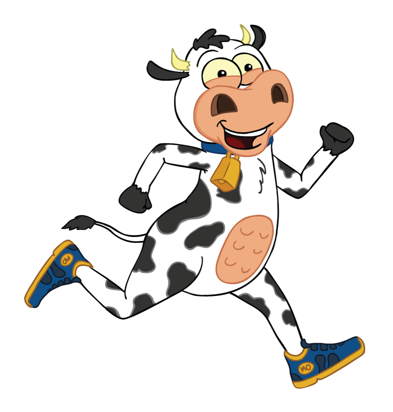 Running cow clipart clipart royalty free stock Cow Pie Jog - Coulee City, WA 2016 | ACTIVE clipart royalty free stock