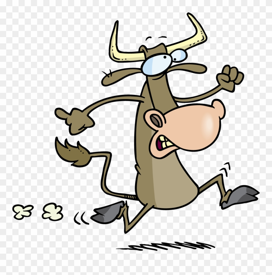 Running cow clipart vector transparent library Cow - Battle Of Bull Run Clipart - Png Download (#1806357 ... vector transparent library