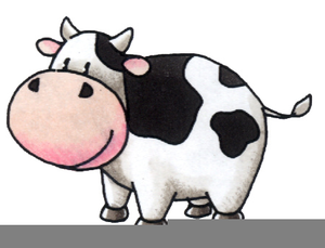 Running cow clipart graphic transparent Free Cow Running Clipart   Free Images at Clker.com - vector ... graphic transparent