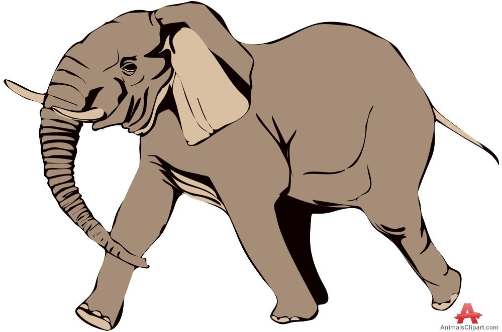 Running elephant clipart clip art library Walking elephant clipart free design download – Gclipart.com clip art library