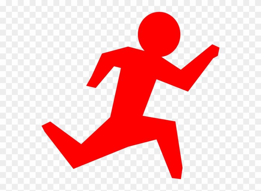 Running figure clipart clip art free Red Clipart Stick Figure - Stick Running Man Cartoon - Png ... clip art free
