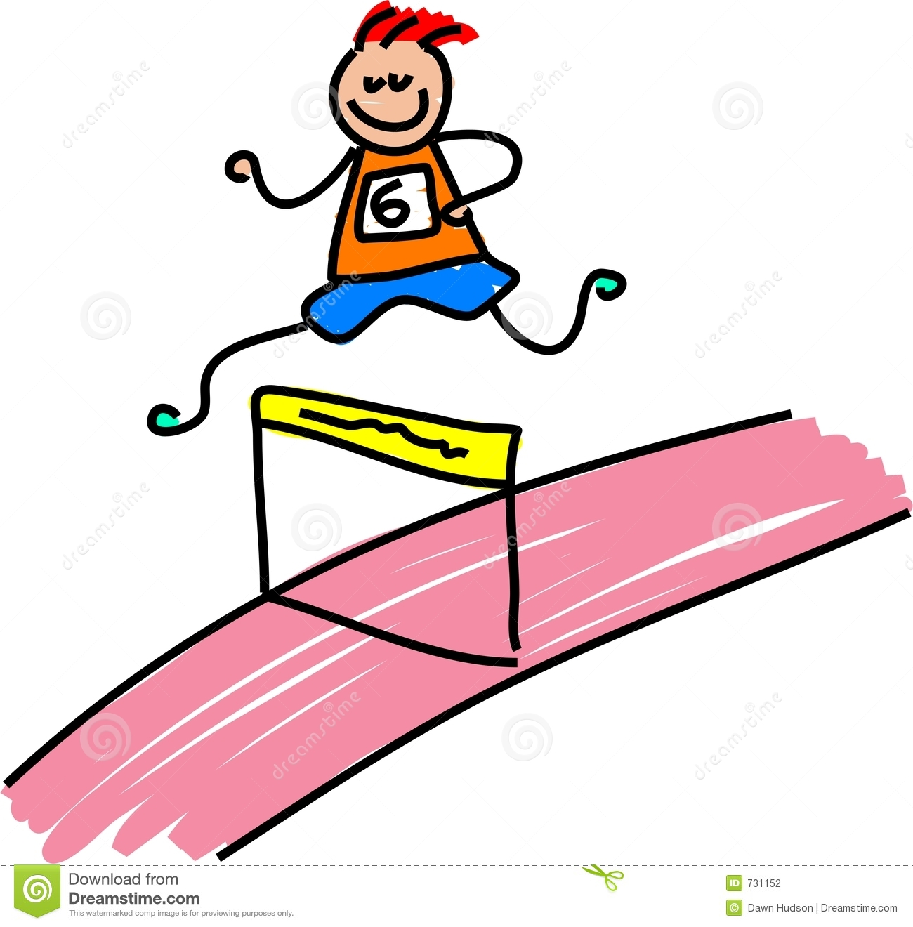 Running girl with baton clipart track and field vector freeuse Track And Field Clipart Free   Free download best Track And ... vector freeuse