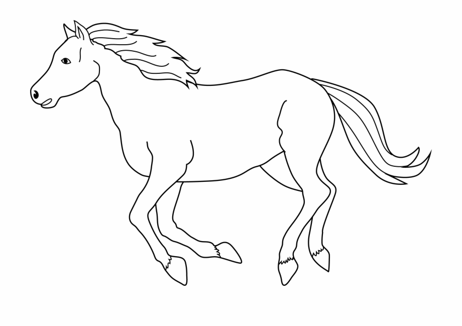 Running horse clipart black and white png royalty free download Black Running Horse Clipart - Clipart Of Horses Black And ... png royalty free download