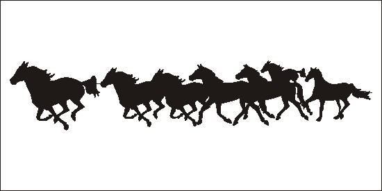 Running horses clipart clip royalty free Free Running Horse Cliparts, Download Free Clip Art, Free ... clip royalty free