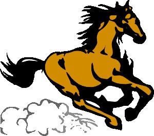 Running horses clipart freeuse library Running Horse 4 Clip Art at Clker.com - vector clip art ... freeuse library