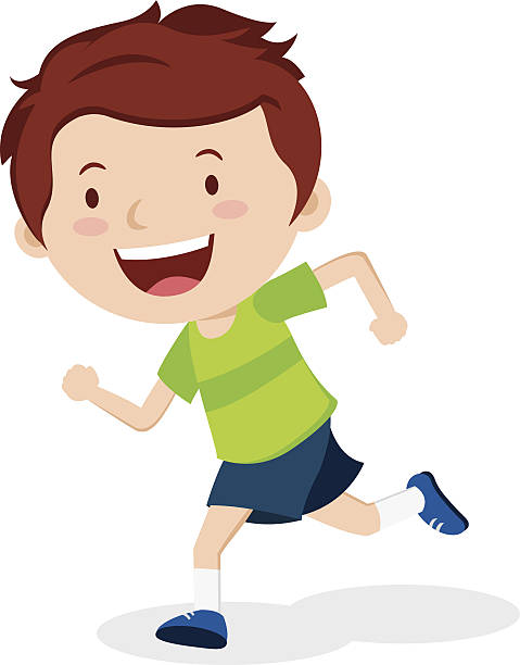 Running images clipart png black and white Child running clipart 2 » Clipart Station png black and white