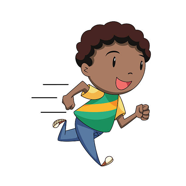 Running kid clipart graphic freeuse stock Kid running clipart 5 » Clipart Station graphic freeuse stock