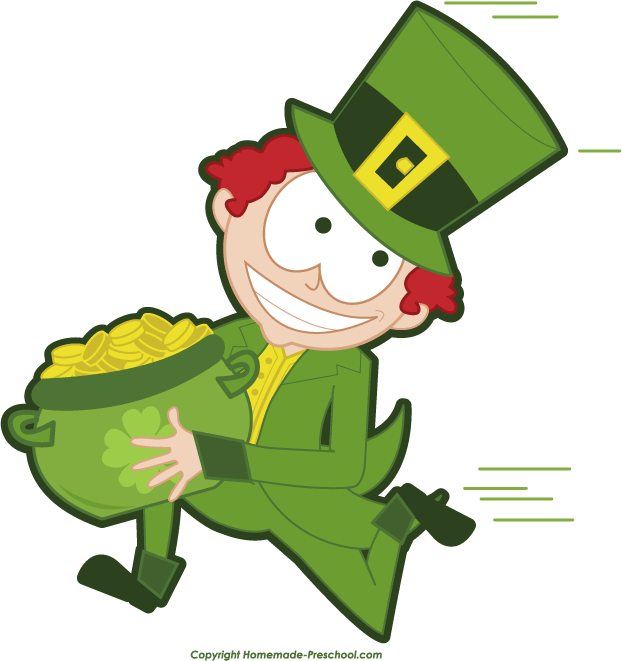 Running leprechaun clipart png black and white stock Running leprechaun clipart - Cliparting.com png black and white stock