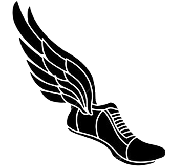 Winged track shoe clipart png freeuse download Free Track Spikes With Wings, Download Free Clip Art, Free ... png freeuse download