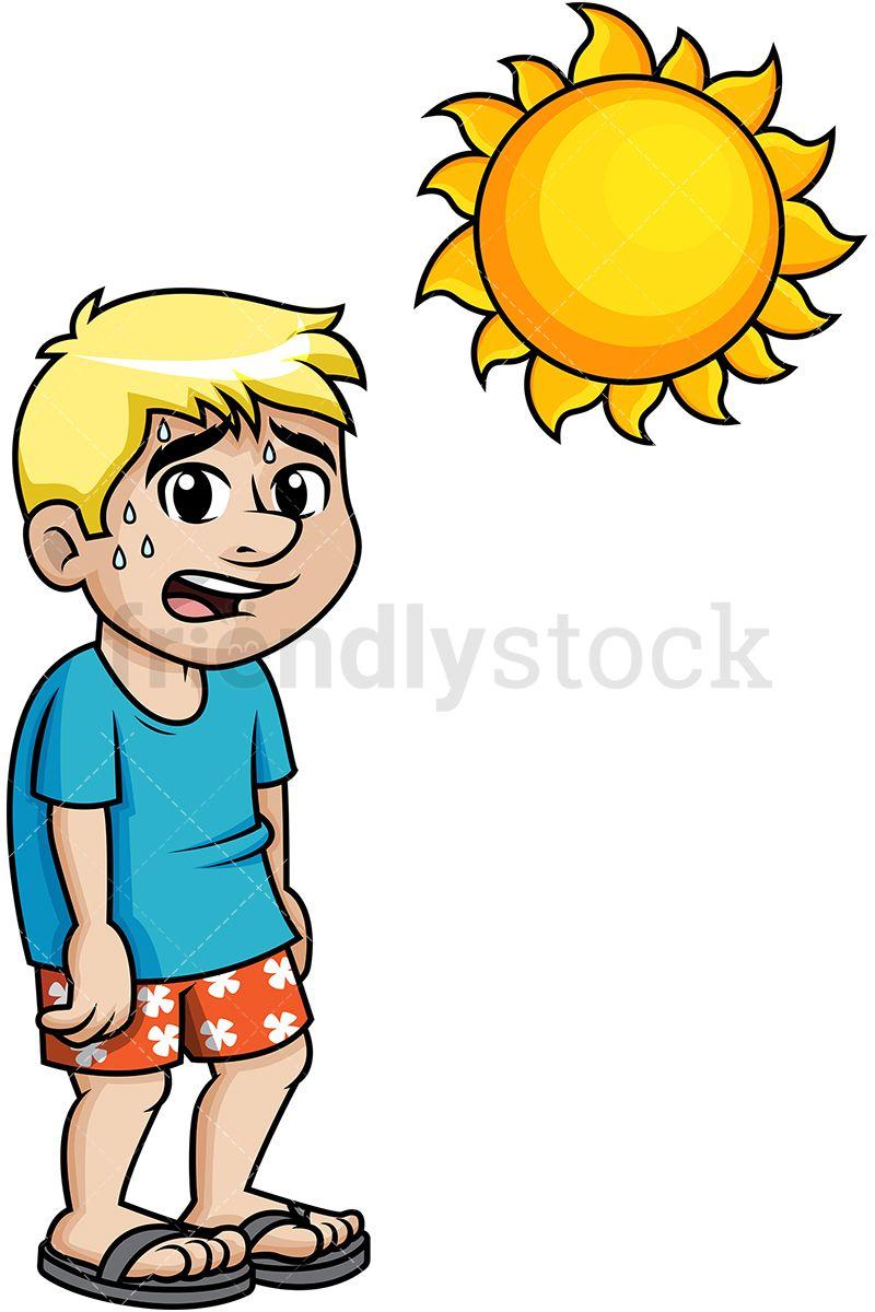 Running teacher sweating clipart clip art Man Sweating Under The Summer Sun | printable | Sweating man ... clip art