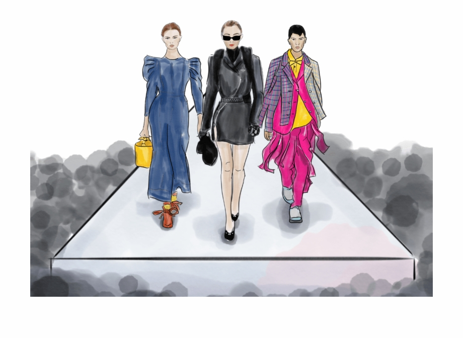Runway model clipart picture transparent download Runway Model Png - Fashion Show Free PNG Images & Clipart ... picture transparent download