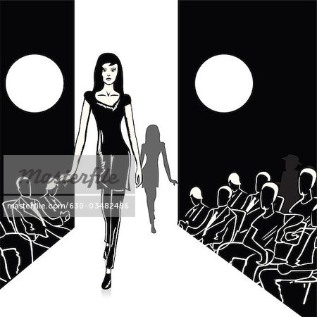 Black models clipart svg library stock 630-03482486 svg library stock