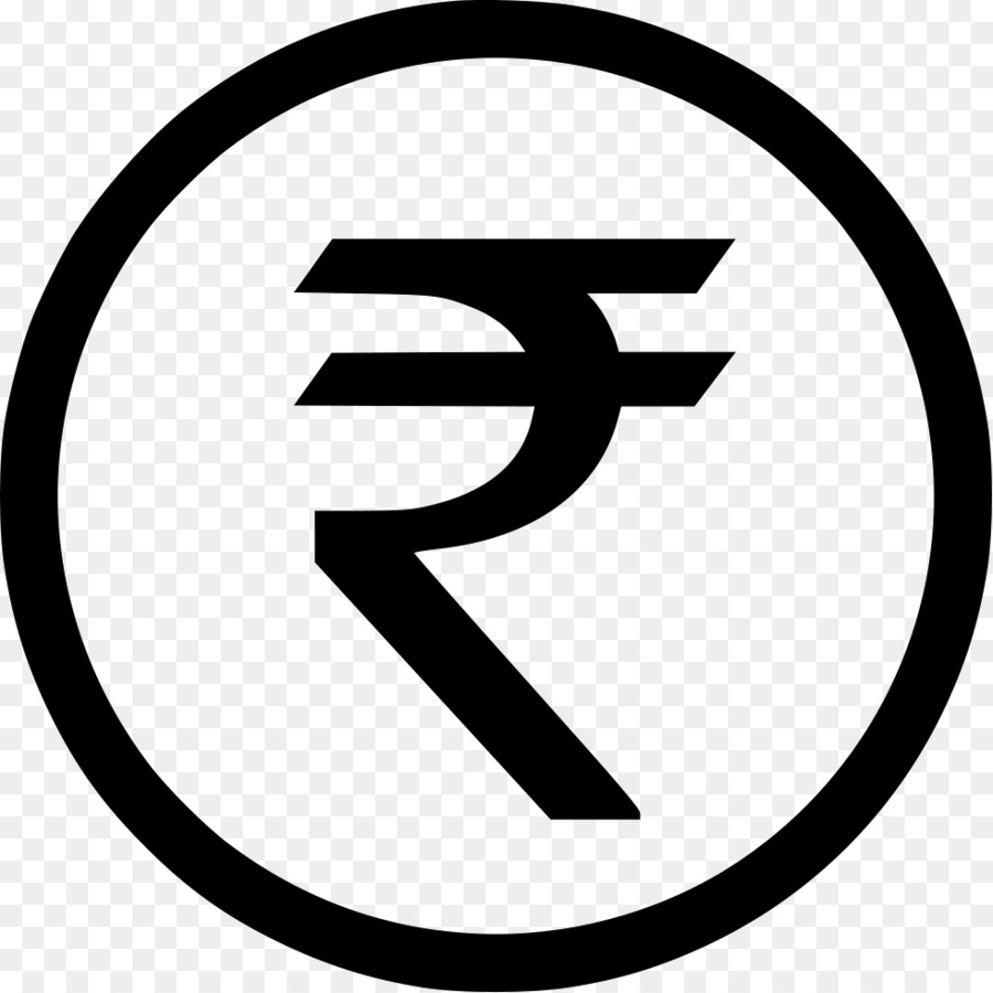 Rupee symbol clipart white vector free library Rupee Symbol png download - 981*981 - Free Transparent ... vector free library