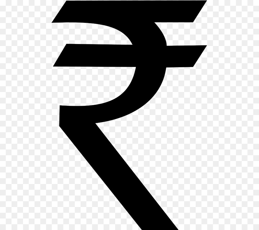 Rupee symbol clipart banner freeuse Rupee Symbol clipart - Black, Text, Font, transparent clip art banner freeuse