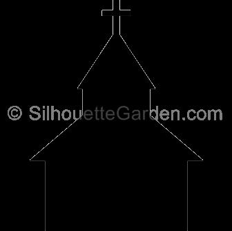 Rural church silhouette clipart black and white banner free download Church clipart silhouette, Church silhouette Transparent ... banner free download
