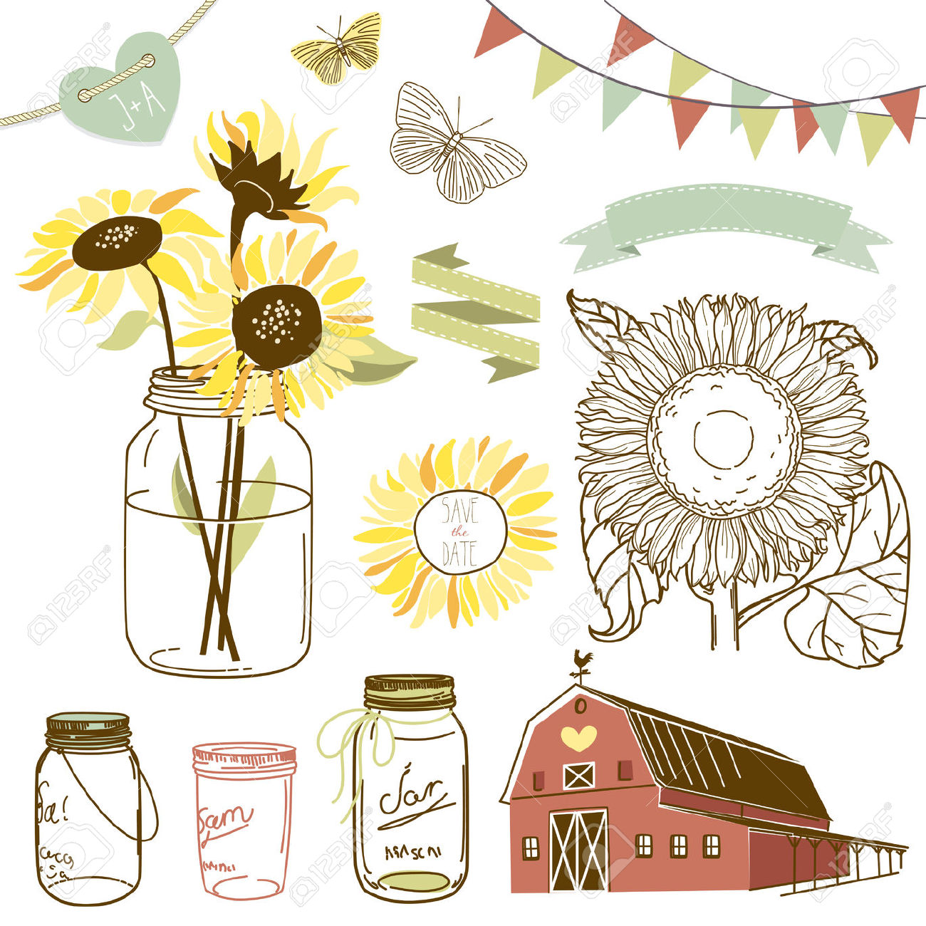 Rustic clipart clipart black and white stock Free Rustic Line Cliparts, Download Free Clip Art, Free Clip ... clipart black and white stock