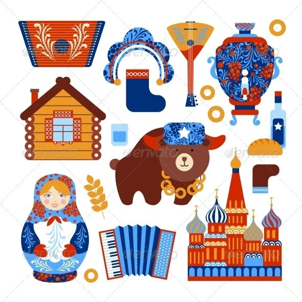 Russia icon clipart graphic free stock Pin by Shiseausethlg on vectors | Russian folk art, Russia ... graphic free stock