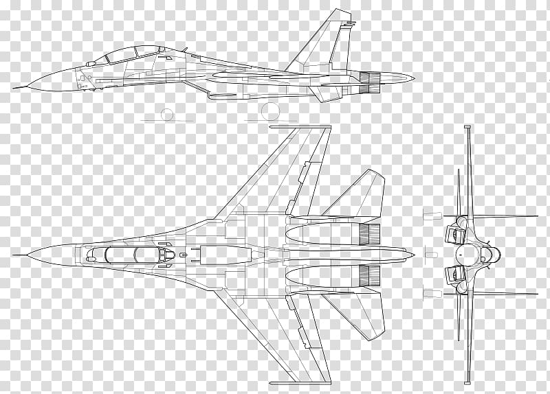 Russian sukhoi su-27 jet clipart black and white vector Sukhoi Su-30MKI Sukhoi Su-27 Sukhoi Su-34 Sukhoi Su-30MKK ... vector