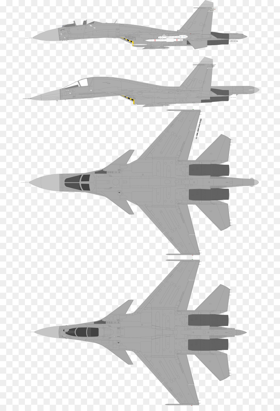 Russian sukhoi su-27 jet clipart black and white svg black and white library Cartoon Airplane png download - 768*1303 - Free Transparent ... svg black and white library
