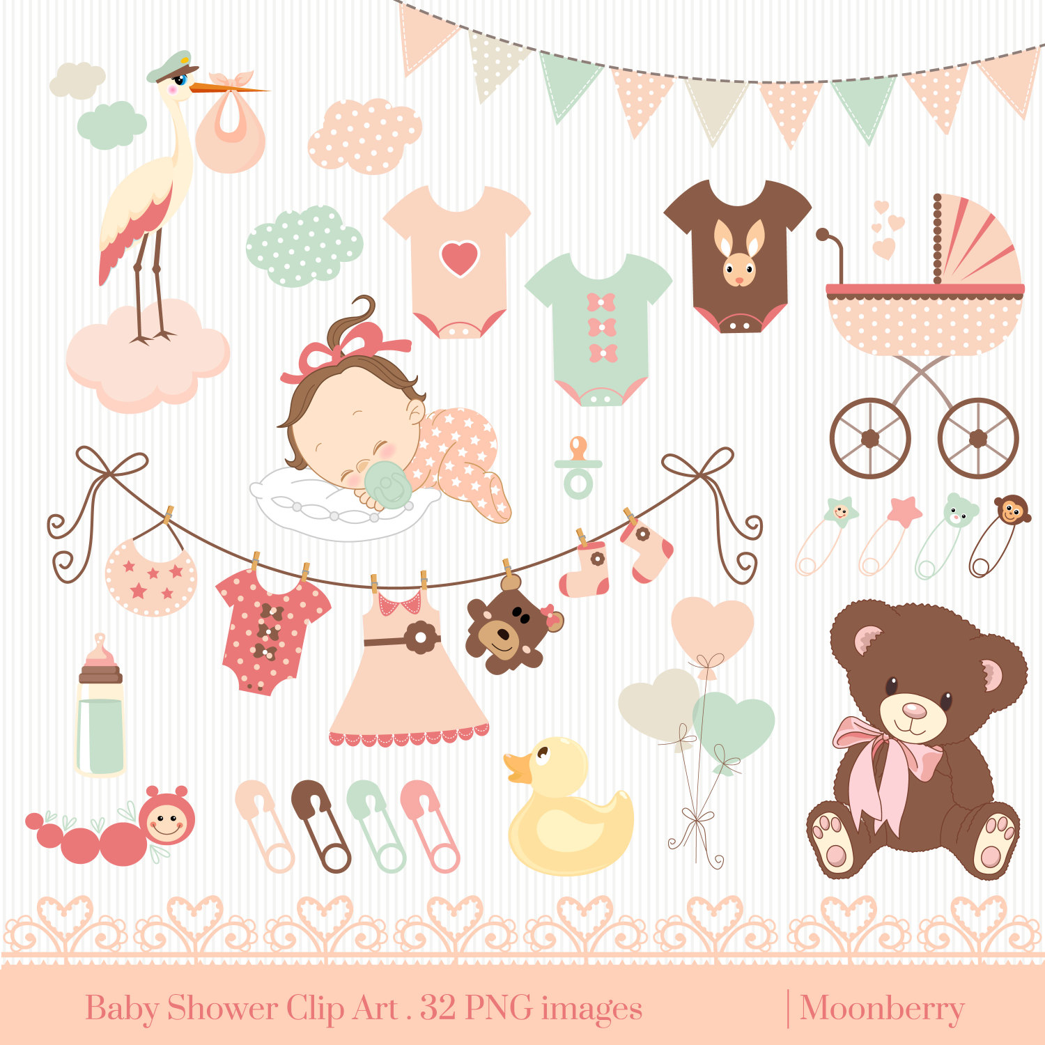 Rustic baby shower clipart vector free download Rustic clipart baby shower - 199 transparent clip arts ... vector free download