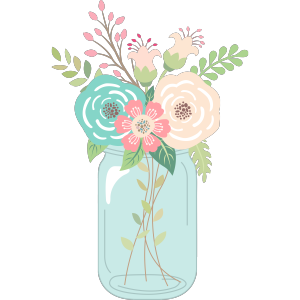 Rustic clipart black and white flowers in mason jar transparent free mason jar wedding clipart - Google Search | Invite ... transparent