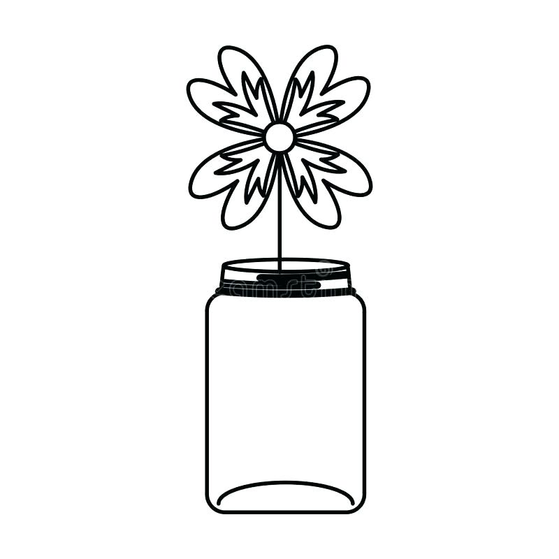 Rustic clipart black and white flowers in mason jar clip art royalty free rustic clipart black and white flowers mason jar ... clip art royalty free