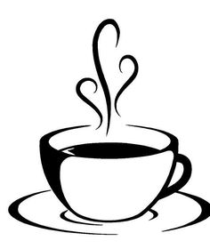 Rustic coffee mug clipart image stock 18 Best Coffee Cup Stencils images in 2018 | Coffee mugs ... image stock