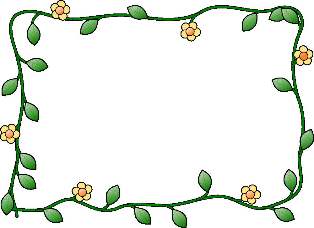 Rustic flower border clipart banner download Flower frame royalty free clip art | Labels/Prints | Pinterest ... banner download