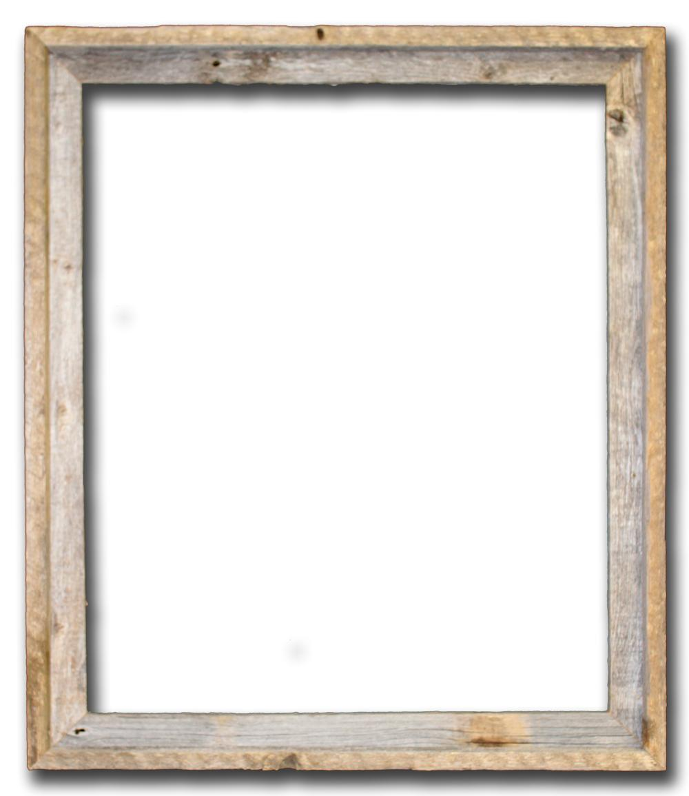 Square wood frame clipart