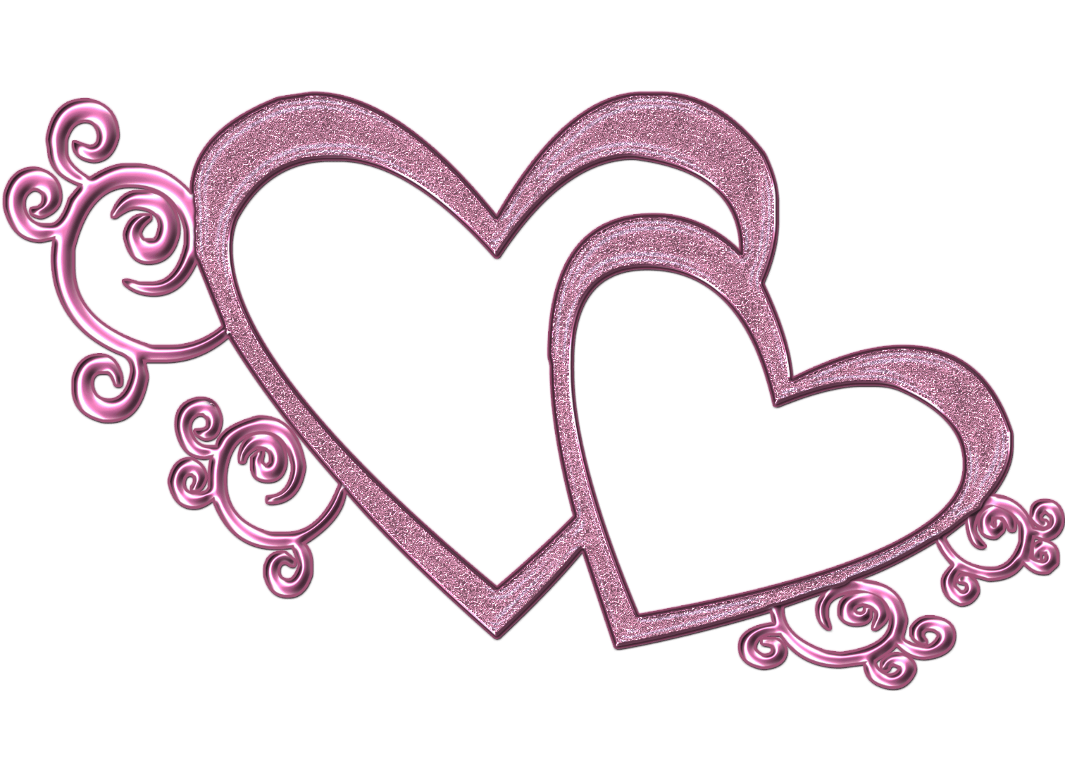 Rustic heart clipart clipart royalty free Intertwined Hearts Cliparts Free collection | Download and share ... clipart royalty free