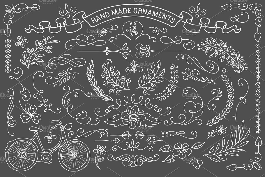 Rustic ornaments clipart vector royalty free stock Rustic ornaments.Vector clipart vector royalty free stock