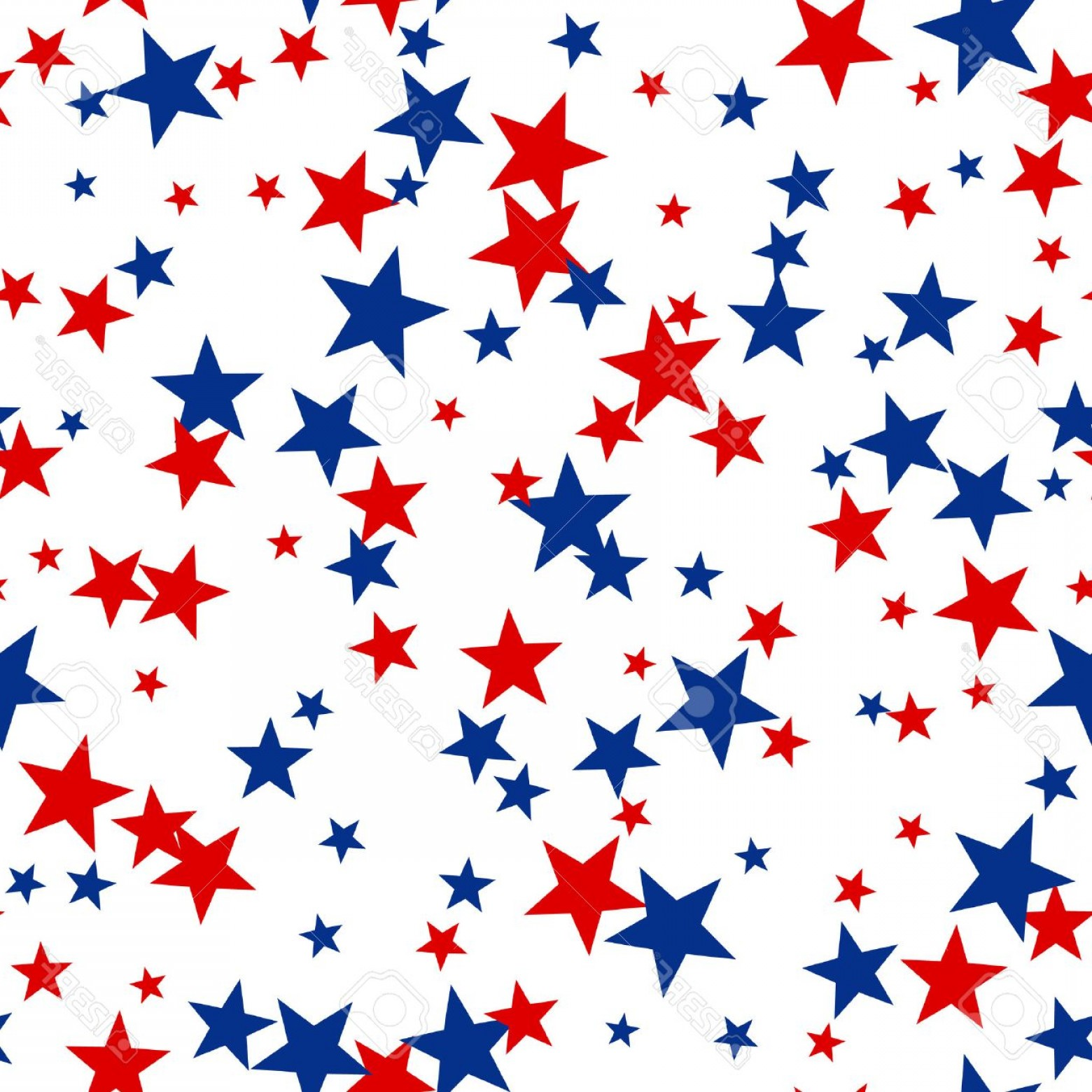 Rustic red white and blue star clipart banner Patriotic Star Background Vector | SOIDERGI banner
