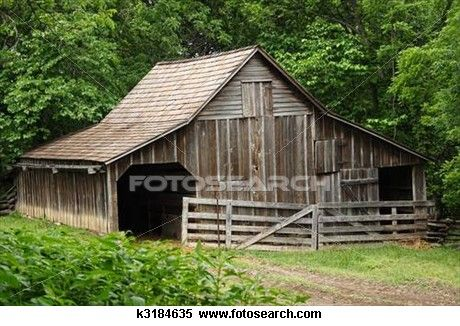 Rustic stable clipart vector transparent stock Old Wooded Barn Stock Photography   Old Barns...I Love Them ... vector transparent stock