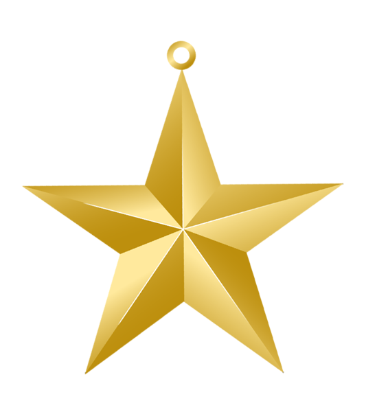 Rustic star png clipart clip black and white stock Christmas Gold Star Ornament PNG Picture | Christmas Printables ... clip black and white stock