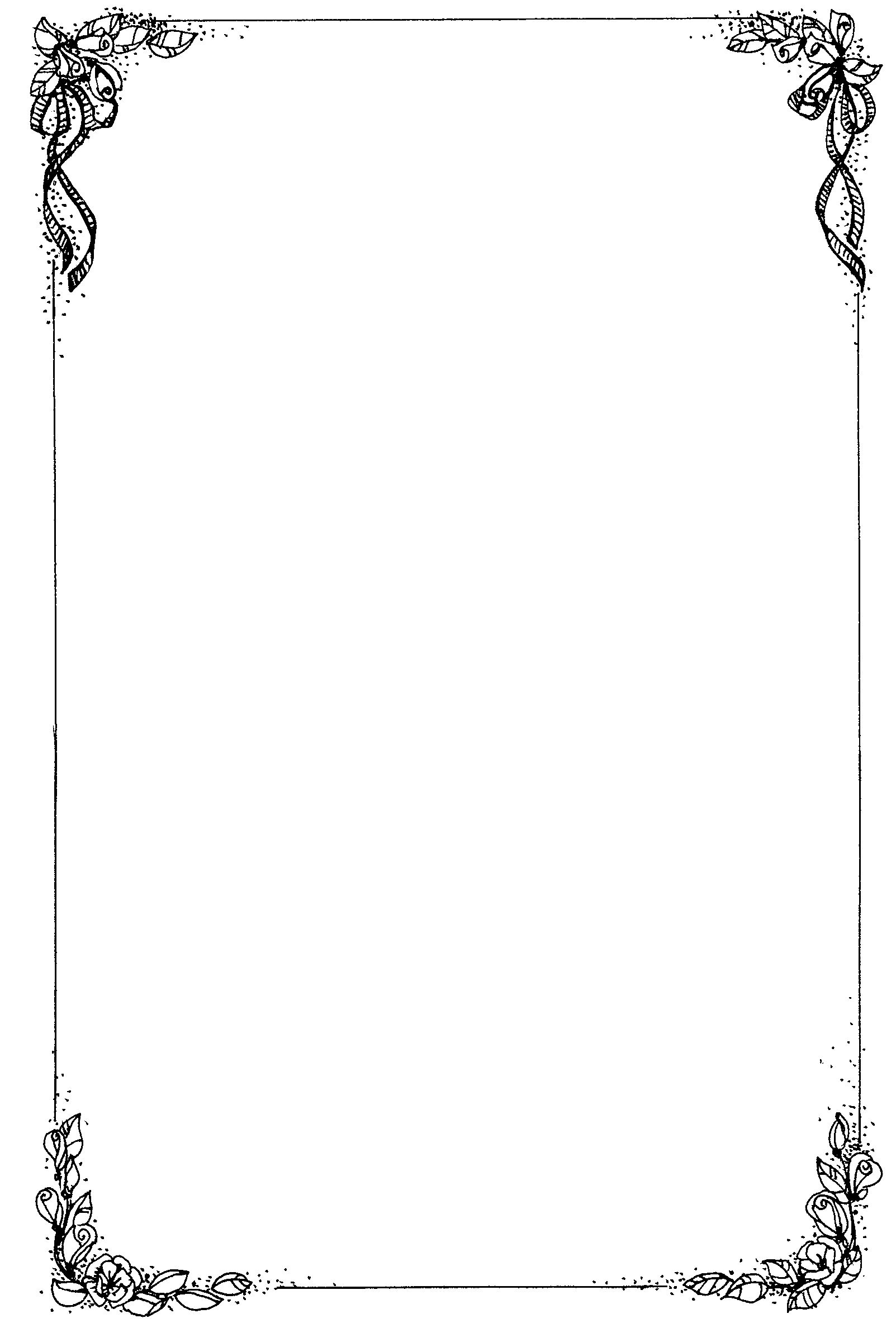 Rustic top boarder clipart black and white image royalty free download Free borders rustic wedding borders clipart - WikiClipArt image royalty free download