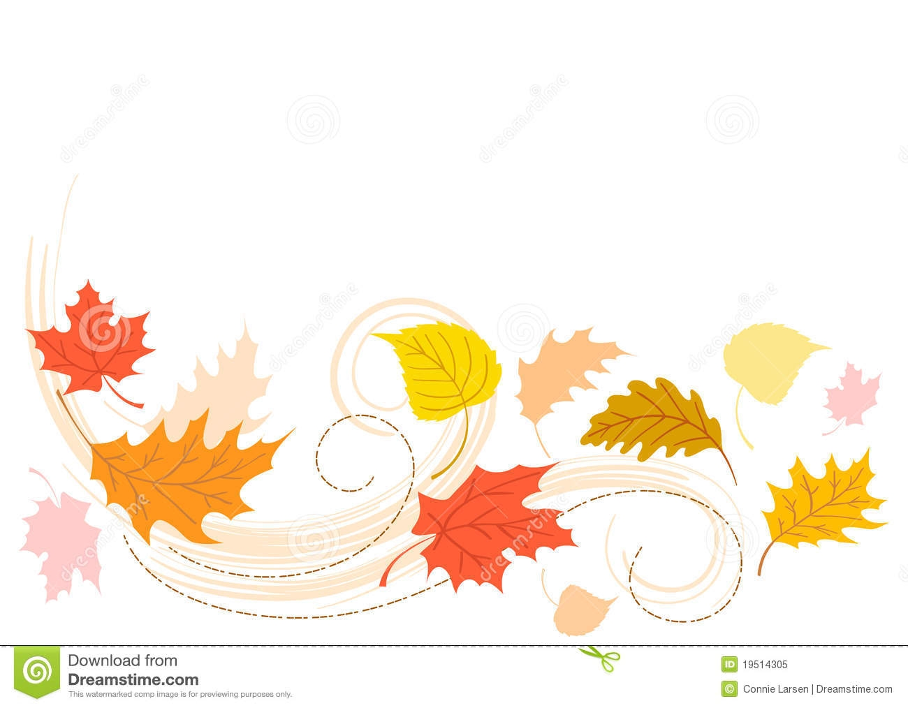 Rustling clipart vector free Blowing Leaves Clipart | Free download best Blowing Leaves ... vector free