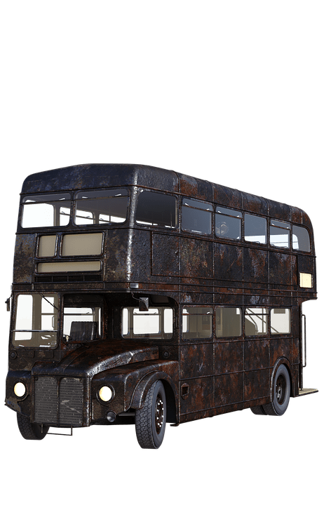 London Bus Rusty transparent PNG - StickPNG graphic transparent library