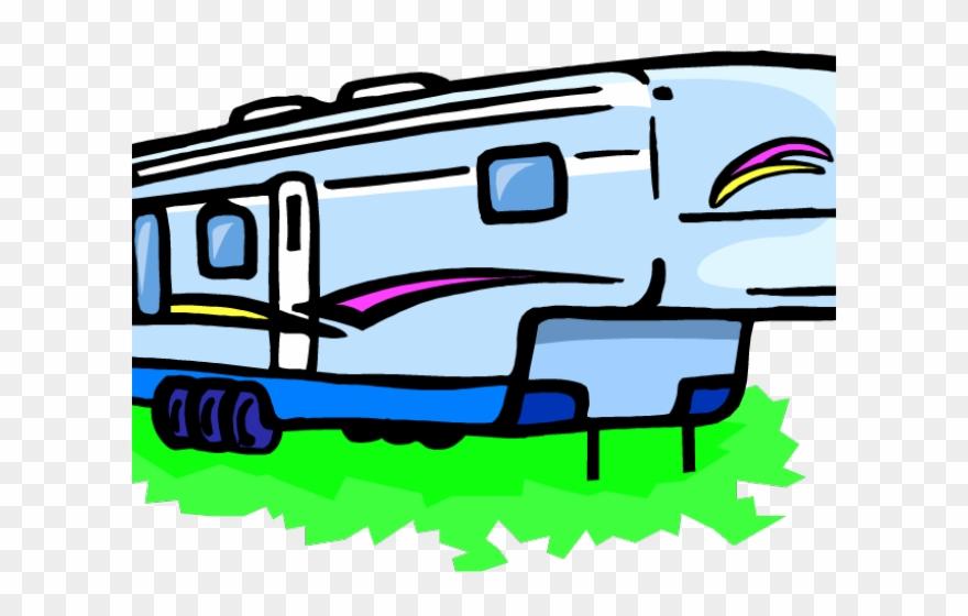Rv camper clipart svg download Camper Clipart Vacation Rv - Png Download (#2702609 ... svg download