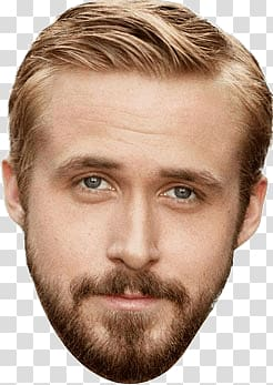 Ryan gosling clipart picture black and white stock Male character illustration, Ryan Gosling Face transparent ... picture black and white stock