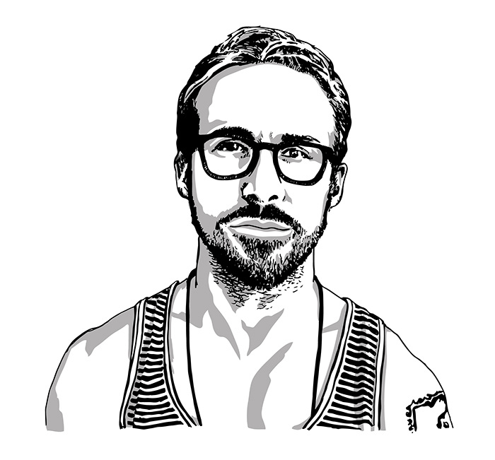Ryan gosling clipart jpg stock 48+ Ryan Gosling Clipart | ClipartLook jpg stock