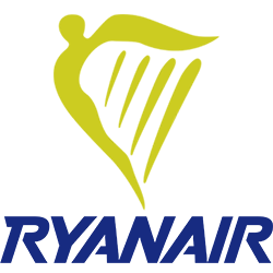 Ryanair logo clipart jpg black and white stock Cheap Air Tickets with Ryanair from 10€! | airshop.gr jpg black and white stock